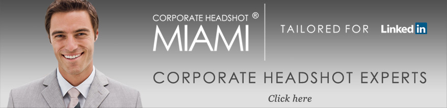 Corporate Headshot Miami