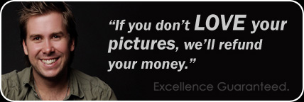 If you don't love your pictures we will refund your money